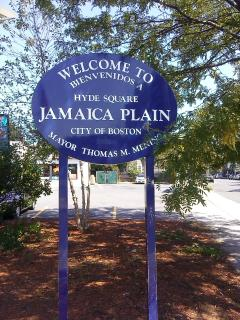 Hyde Square in Jamaica Plain/Boston