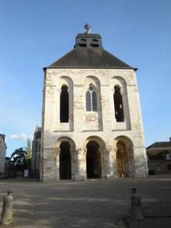 L'abbaye de Saint Benoit sur Loire