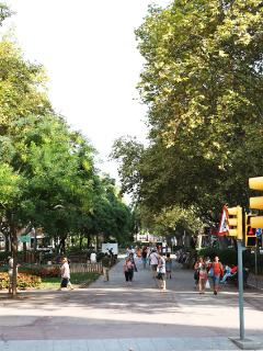 And also a pedestrian avenue