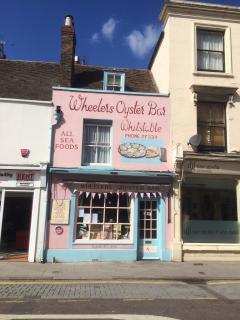 Popular local oyster bar