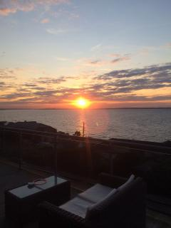 Another sunset from the terrace