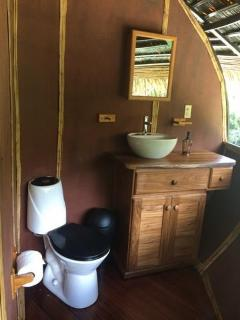Treee house bathroom