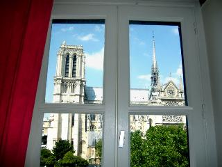 Charming studio, outstanding view on Notre-Dame