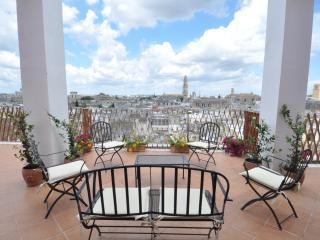 Lecce, splendida terrazza sul centro storico