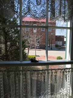 View out the front window