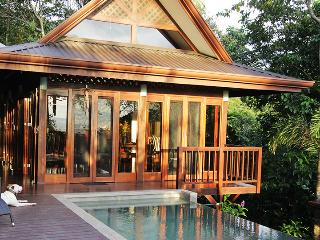 Ocean View Villa in Private Jungle, Dominical