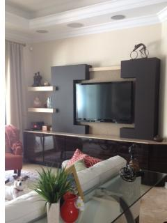 Living room 55' TV