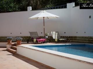 Apartment in mediterranean villa with garden+pool