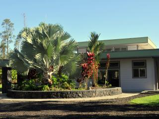 Modern Estate on Tropical Acre at Hale E Komo Mai, Keaau