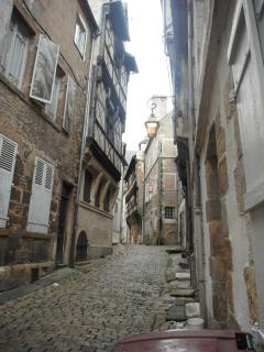 Oldest street in nearby Moulins on the river Allier.
