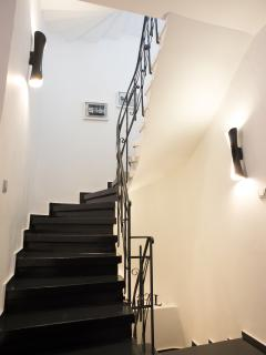 Stairs to 2nd Floor (Living Room and Kitchen)