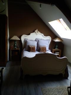 Chambre LOUIS, 1 lit 140cm, 1 lit à rouleau(70x175cm) pour ado ou enfant