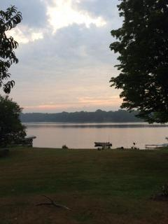 Lakeview from the house