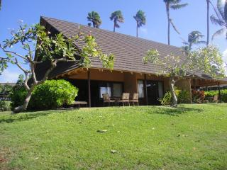 Kepuhi Beach Resort  Cottage 5A Vacation Rental - Ocean Front, Beach, Ocean, & Sunset Views