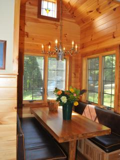 Dining Nook Accommodates 6 adults