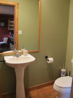 Half Bathroom off living area
