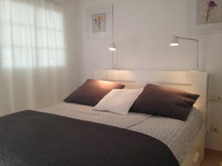 The master bedroom with 160 cm bed