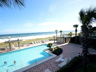 White Caps 206 ~ Master Bedroom Access to Balcony ~ Bender Vacation Rentals, Gulf Shores