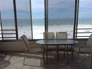 Spectacular view on Crescent Beach, directly on Gulf - 5 South, Siesta Key