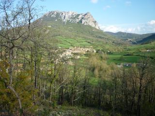 Bugarach village and mountain