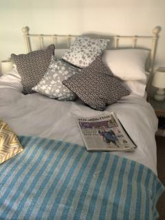 Bedroom 1 - the perfect place for a lie-in with the papers