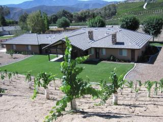 Rancho Del Vino  Temecula Wine Country  Rental