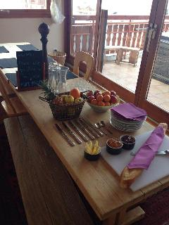 Afternoon Tea all ready to go