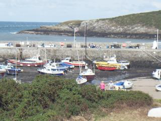 """QUAYSIDE""Harbour+Beachside apartment with WIFI, Cemaes Bay"