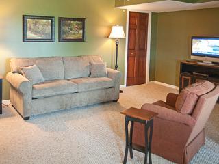 Living Room in Hillside Suite