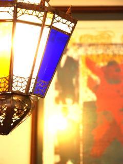 Maroccan lamp...