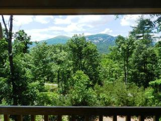 Like new log cabin with Fire Pit, Game Room with Foosball, Mtn Views