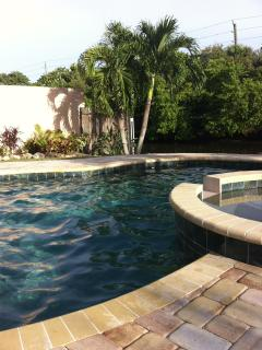 Jump right in to your private pool oasis!