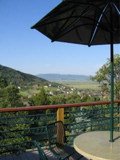 Southern Yampa Valley view at the Royal Flush House