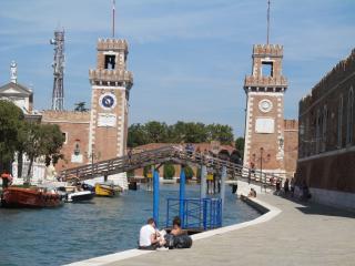 Canale ingresso Arsenale di Venezia