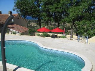 Villa Sinnewille: sea view, private pool, golf, La Cadiere d'Azur