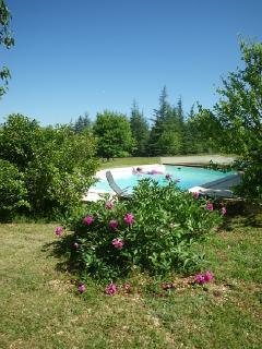 la piscine avec abri coulissant
