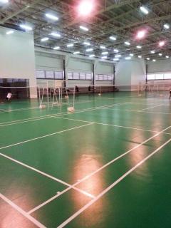 Indoor Badminton Courts