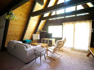 Rustic modern A-frame Tahoe cabin, South Lake Tahoe