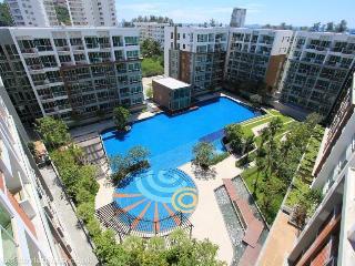 1 bedroom condo in the seacraze with pool view, Hua Hin