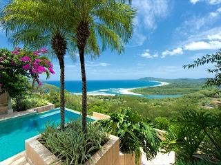 Elegant 6BR home- on seaside hill, tropical garden, views, infiniti pool, etc