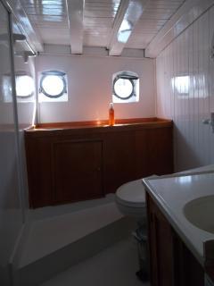 salle de bain master cabin