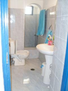 Bathroon, shower and toilet facilities