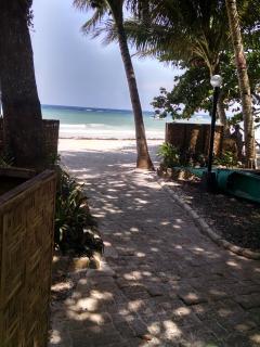 Garden path to beach