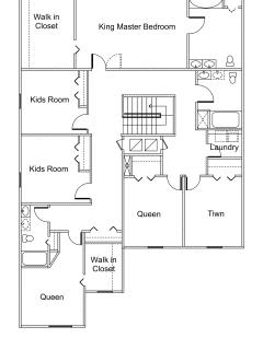 Floor Plan --- Second Floor