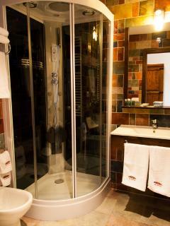 baño ducha hidromasaje-casa 3 habitaciones