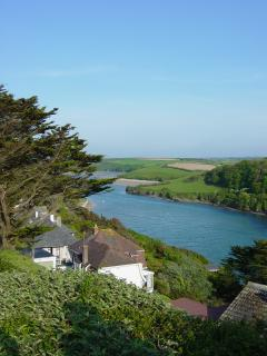 RIVER GANNEL AT HIGH TIDE
