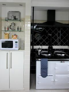 AGA IN KITCHEN