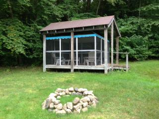Screen House and Fire Pit