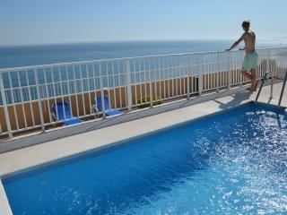 Fantastic view from the swimming pool on the roof top
