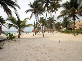 DIRECT SANDY BEACHFRONT 3 BR WIFI GRILL AMAZING!!, Puerto Aventuras